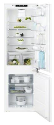 Встраиваемый двухкамерный холодильник Electrolux ENC 2854 AOW морозильник electrolux euf 2743 aow