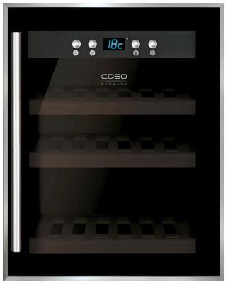 Винный шкаф CASO WineSafe 12 Black caso m20 easy black