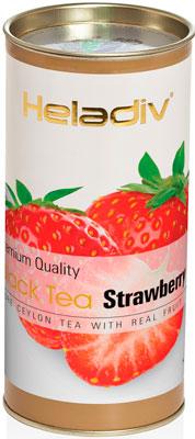 Чай черный HELADIV HD STRAWBERRY 100 gr Round P.T. heladiv golden ceylon vintage black черный пакетированный чай 100 пакетиков