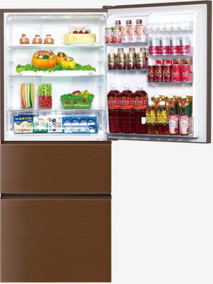 Многокамерный холодильник Panasonic NR-C 535 YG-T8 коричневый цена