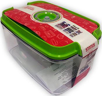 цена на Контейнер для вакуумного упаковщика Status VAC-REC-45 Green