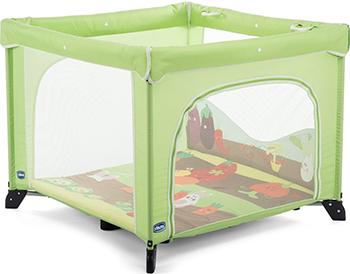 Игровой манеж Chicco Open Box FRUIT SALAD 07079841030000 кровать манеж chicco open box fruit salad