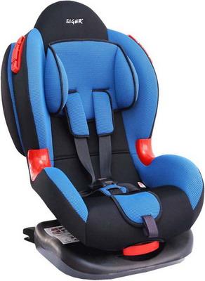 Автокресло Siger Кокон Isofix 9-25 кг синее KRES 0120