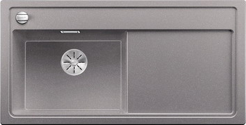 Кухонная мойка BLANCO ZENAR XL 6S (чаша слева) SILGRANIT алюметаллик с кл.-авт. InFino 523976