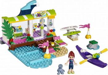 цены на Конструктор Lego FRIENDS Сёрф-станция 41315  в интернет-магазинах