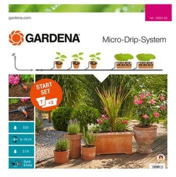 Набор для полива Gardena Комплект микрокапельного полива базовый 13001-20 цены