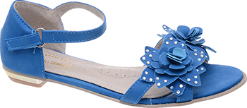 Туфли открытые Аллигаша 350306 36 размер цвет синий