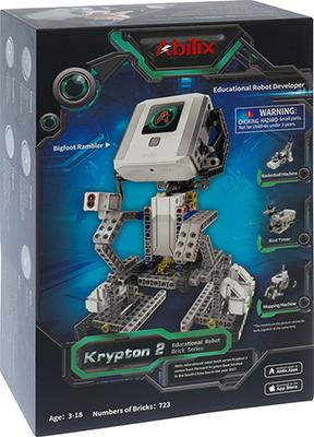 Интерактивный робот-конструктор ABILIX Krypton 2 1CSC 20003505 конструктор электронный ocie робот акробат сделай сам 1csc 20003254
