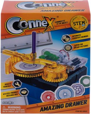 Набор Amazing Toys Connex 32038 игрушка-рисовальщик. Электронный конструктор 1CSC 20003409 электронный конструктор electronic blocks проектор yj 188171447 1csc 20003433
