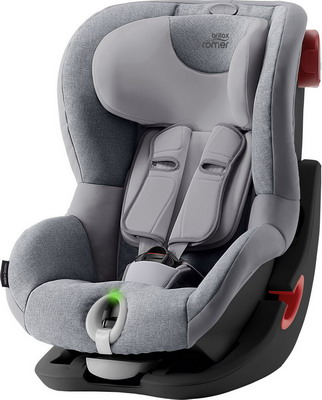 Автокресло Britax Roemer King II LS Black Series Grey Marble Highline 2000030806 автокресло britax romer king ii ls black series football edition highline