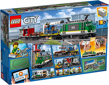 Конструктор Lego City Trains 60198 Товарный поезд конструктор lego city trains 60238