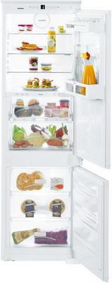Фото - Встраиваемый двухкамерный холодильник Liebherr ICBS 3324-21 встраиваемый холодильник liebherr icbs 3224