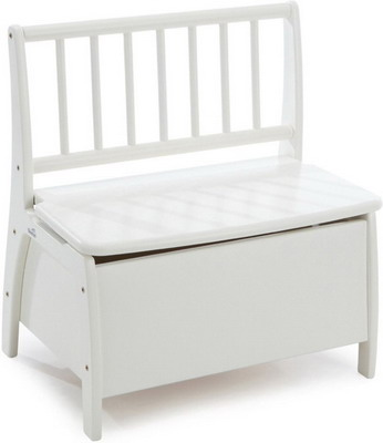 Скамья-сундук Geuther Bambino 2520 WE белая столик игровой geuther bambino белый натуральный