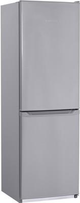 Фото - Двухкамерный холодильник NordFrost NRB 119 332 серебристый металлик двухкамерный холодильник hitachi r vg 472 pu3 gbw