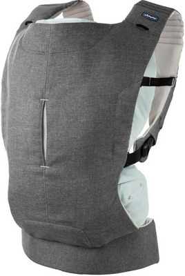 Рюкзак-кенгуру Chicco Myamaki Complete Grey Aquarelle чудо чадо рюкзак кенгуру babyactive choice неон цвет синий