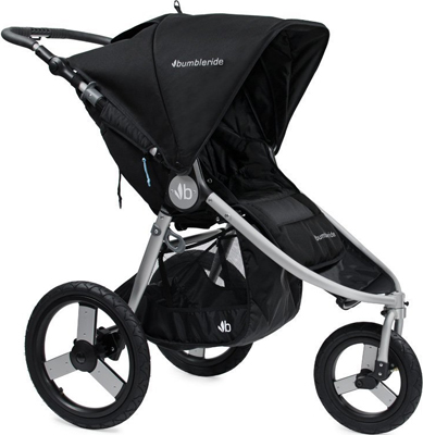 Коляска Bumbleride Speed Silver Black SP-300 SVB цена