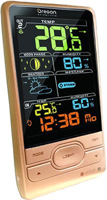 Метеостанция Oregon Scientific BAR 208 S-r розовый все цены