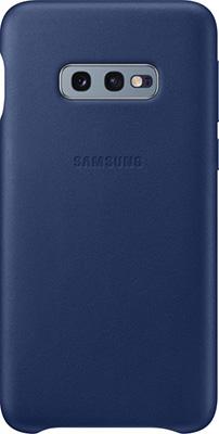 Чехол (клип-кейс) Samsung S 10 e (G 970) LeatherCover navy EF-VG 970 LNEGRU чехол клип кейс samsung s 10 e g 970 leathercover gray ef vg 970 ljegru