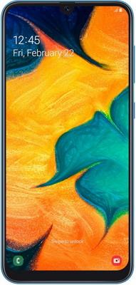 Смартфон Samsung Galaxy A30 (2019) SM-A305F 64Gb синий samsung смартфон samsung galaxy note8 64gb blue синий сапфир