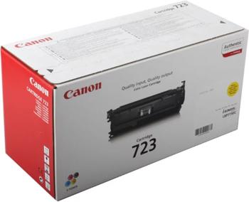Картридж Canon 723 Y 2641 B 002 Жёлтый