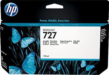 Фото - Картридж HP B3P 23 A №727 Черный фото вешалка гардеробная на колесах мебелик пико 23 черный