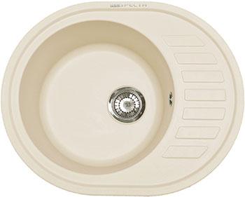 Кухонная мойка Respecta Eleps RE-62 сливочная ваниль RE62.108