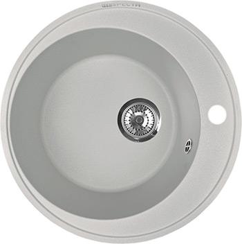 Кухонная мойка Respecta Sfera RS-45 серый жемчуг RS45.107