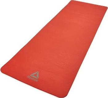 Коврик для йоги и фитнеса Reebok 7 мм красный RAMT-11014RD цена