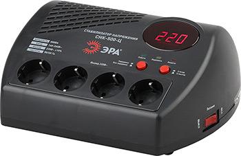 Стабилизатор напряжения ЭРА СНК-500-Ц