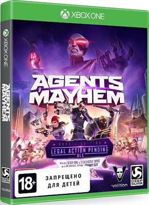 Игра для приставки Microsoft Xbox One Agents of Mayhem ИЗДАНИЕ ПЕРВОГО ДНЯ. agents of atlas
