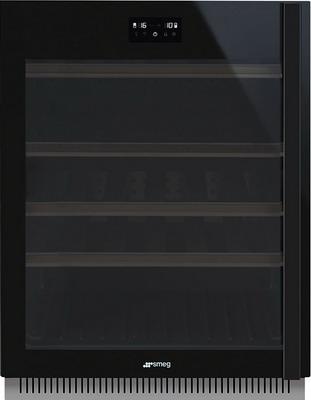 Встраиваемый винный шкаф Smeg CVI638LWN2 цена и фото