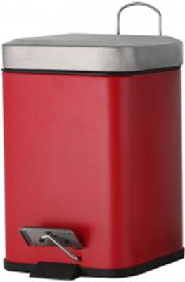 Ведро косметическое Axentia 125486к (3 литра) красное