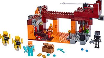 Конструктор Lego Minecraft Мост ифрита 21154 цены онлайн