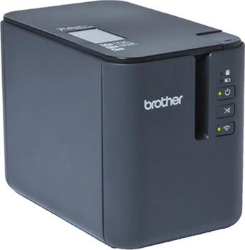 Принтер Brother PTP-900W стационарный светло-серый/черный цена