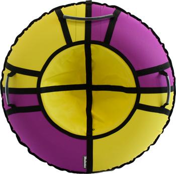 Тюбинг Hubster Хайп фиолетовый-желтый 110 см во5551-5 бра odeon light 4102 1w