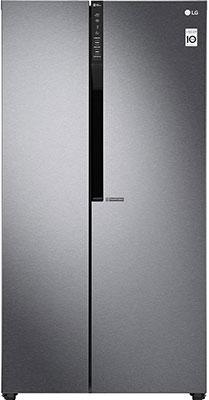 Холодильник Side by Side LG GC-B247JLDV холодильник lg gc b519pmcz серебристый