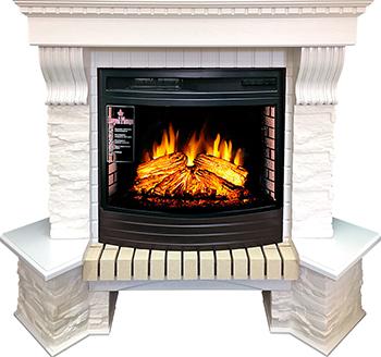 Каминокомплект Royal Flame Pierre Luxe с очагом Dioramic 25 FX 64932063