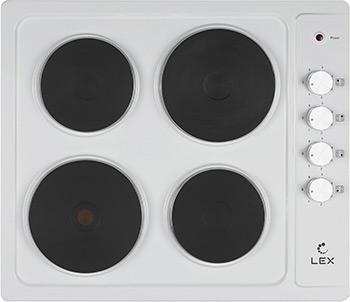 Встраиваемая электрическая варочная панель Lex EVE 640 WH цена и фото