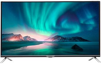 Фото - LED телевизор Hyundai H-LED43EU7008 черный кеды мужские vans ua sk8 mid цвет белый va3wm3vp3 размер 9 5 43