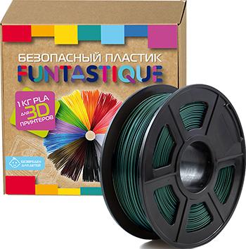 PLA-пластик в катушке Funtastique PLA-1KG-DG 1.75 мм 1 кг (темно-зеленый)