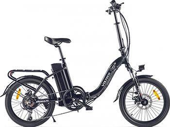 Велогибрид Eltreco VOLTECO FLEX черный-2193 022304-2193 электровелосипед volteco shrinker 2