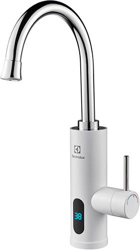 Водонагреватель проточный Electrolux Taptronic (White) водонагреватель электрический santarini star under 10 л над раковиной general hydraulic 5150090100