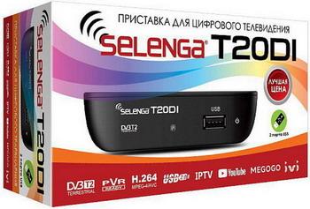 Фото - Цифровой телевизионный ресивер Selenga T 20DI электронная книга