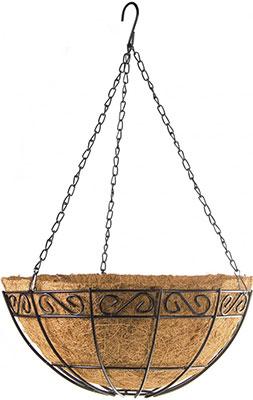 Фото - Подвесное кашпо Palisad 69004 подвесное кашпо с орнаментом 30 см с кокосовой корзиной palisad