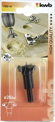 Сверло для шарниров Kwb 26 мм 7055-10