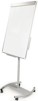 Доска-флипчарт магн-маркерная Brauberg (70х100 см) передвиж стандарт 235527