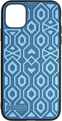 Фото - Чеxол (клип-кейс) Lyambda ERIS для iPhone 12/12 Pro (LA11-1261-BL) Blue чеxол клип кейс lyambda eris для iphone 12 mini la11 1254 gr green