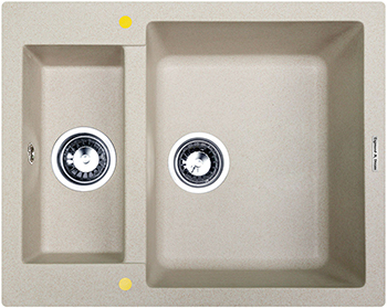 Кухонная мойка Zigmund & Shtain RECHTECK 600.2 осенняя трава