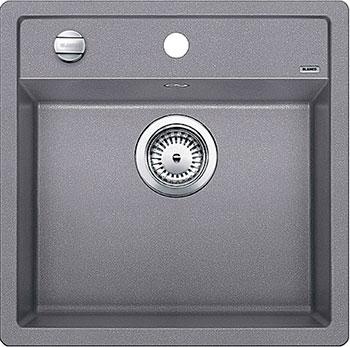 Кухонная мойка BLANCO DALAGO 5 SILGRANIT алюметаллик с клапаном-автоматом кухонная мойка blanco dalago 6 f silgranit алюметаллик с клапаном автоматом