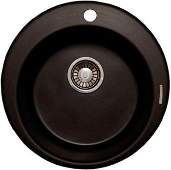 Кухонная мойка LAVA R.1 (BASALT чёрный) цена